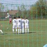 Eckball und Freistoß im Fußball