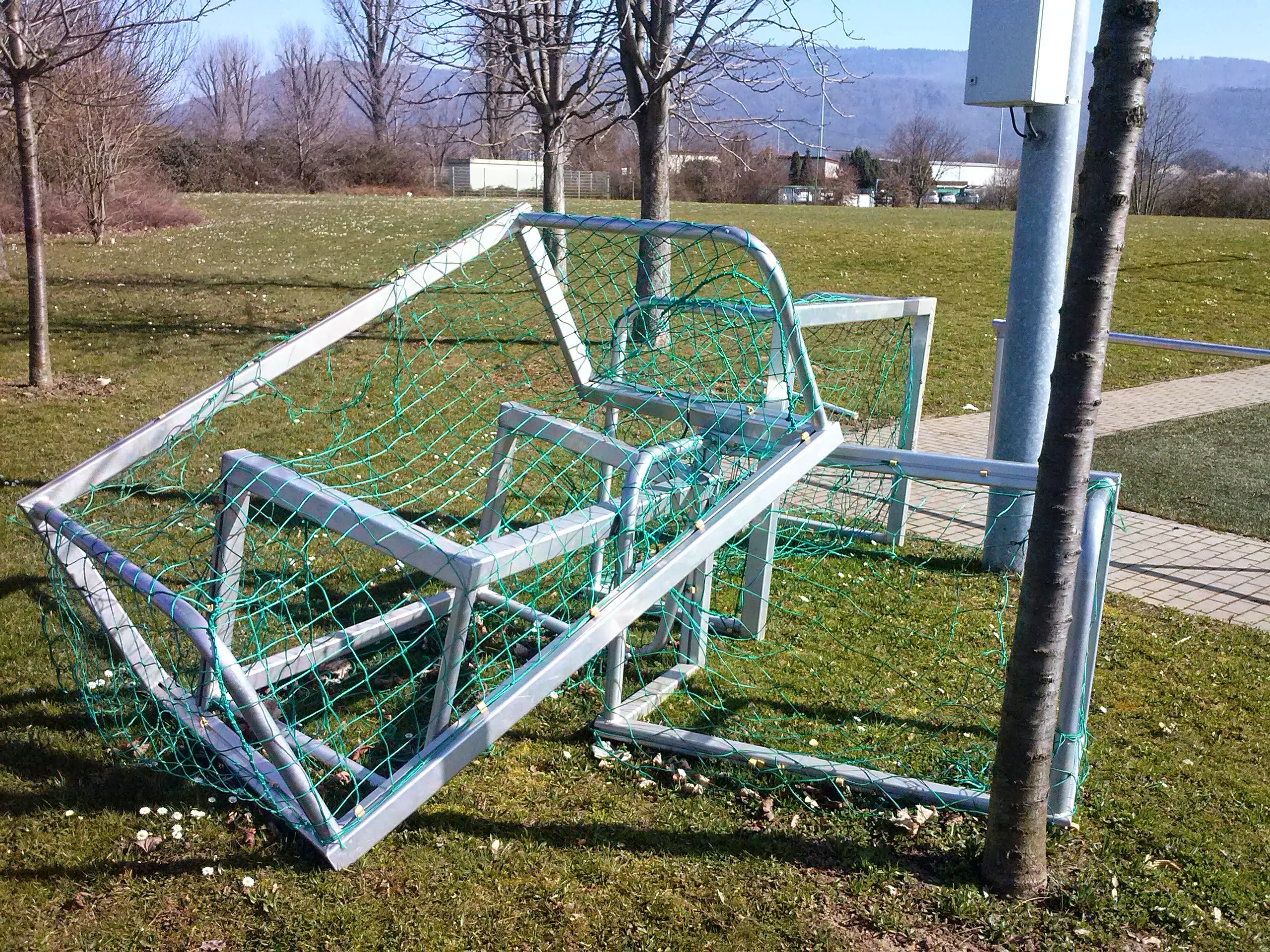 Minitore im Fußball