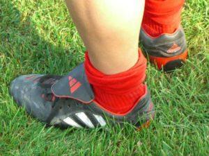 Passspiel im Fußball