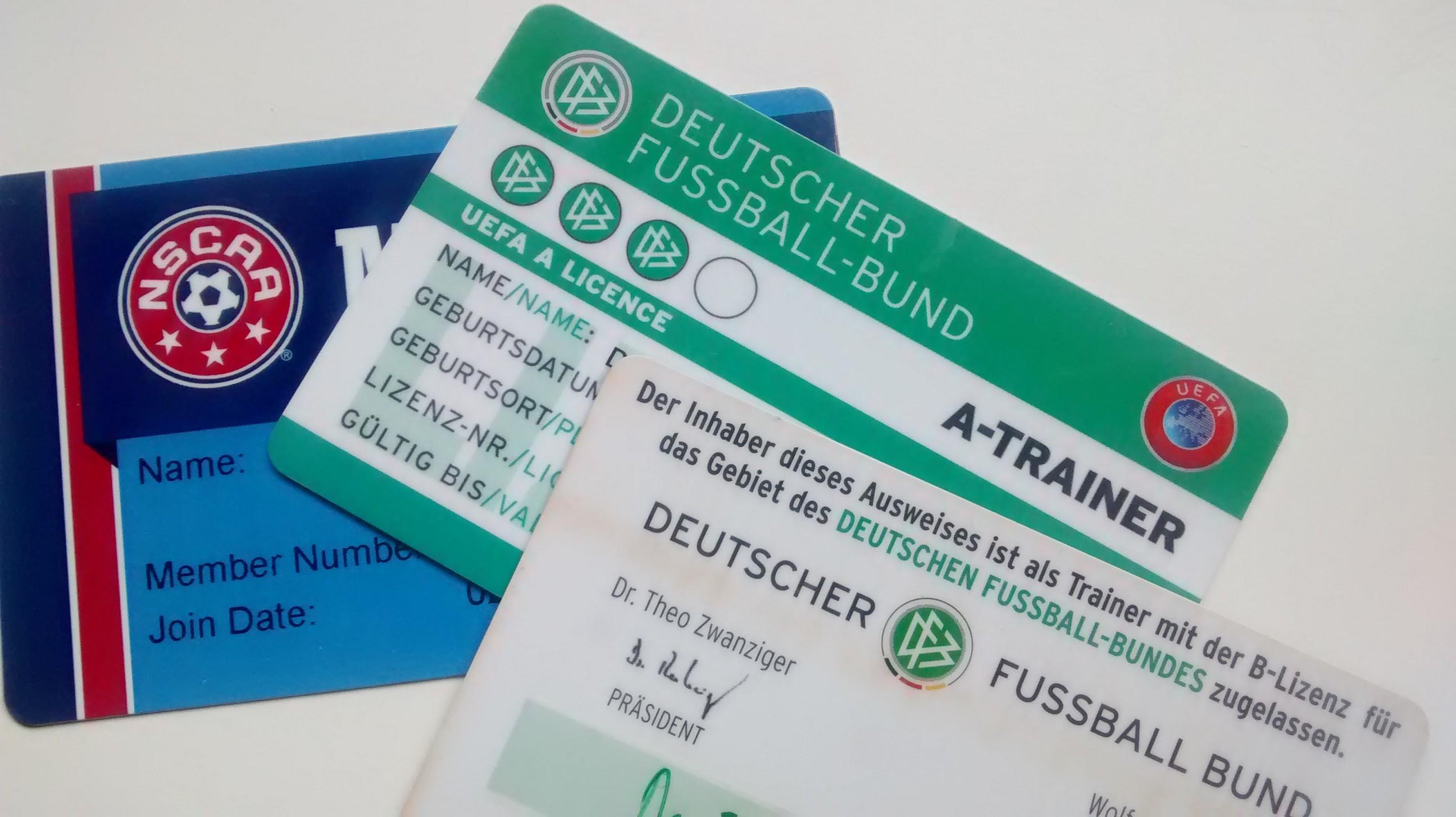 DFB Trainerschein A-Lizenz, B-Lizenz