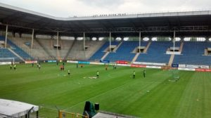 Trainingseinheit im Carl-Benz-Stadion, Mannheim