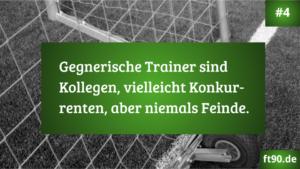 Trainerregel #4: Sportlicher Konkurrenzkampf statt Feindschaft.