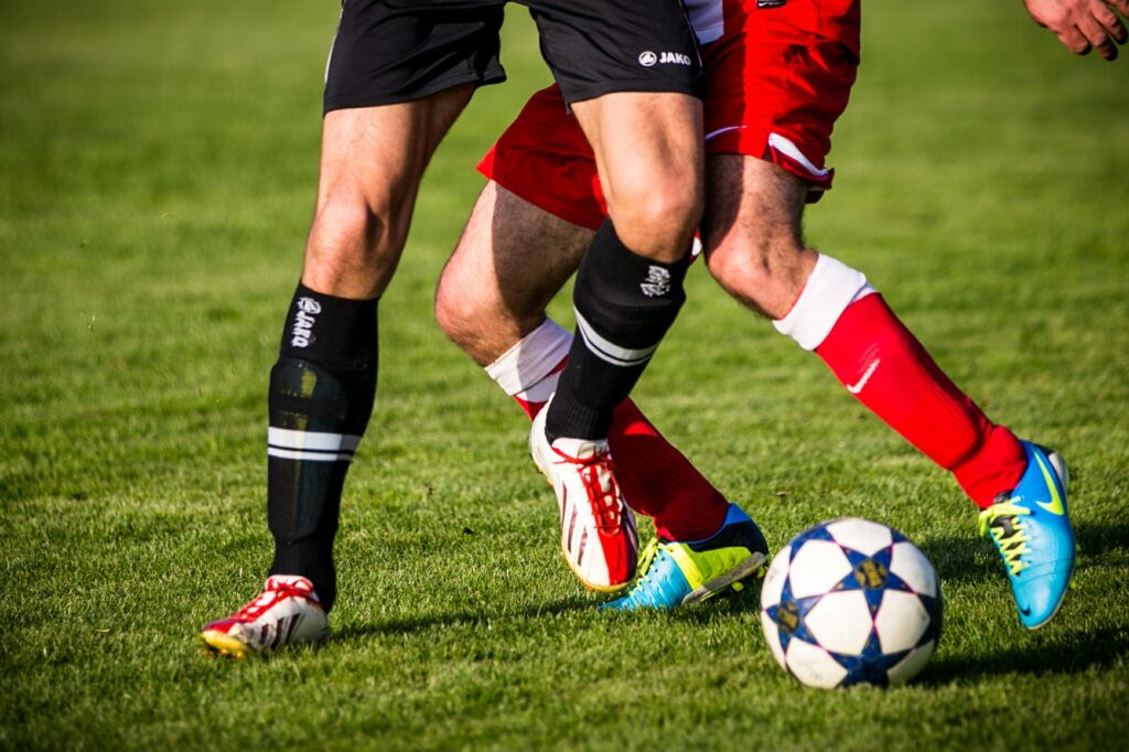 Der Zweikampf Im Fussball Fussball Training Blog