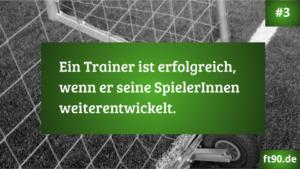 Trainerregel 3: Spieler weiterentwickeln